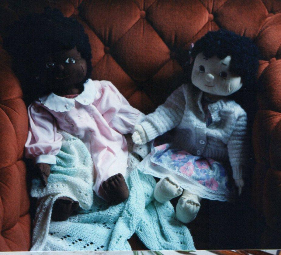 dolls dresses blankets