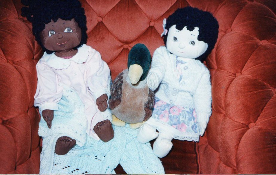 Dolls made by Sandy